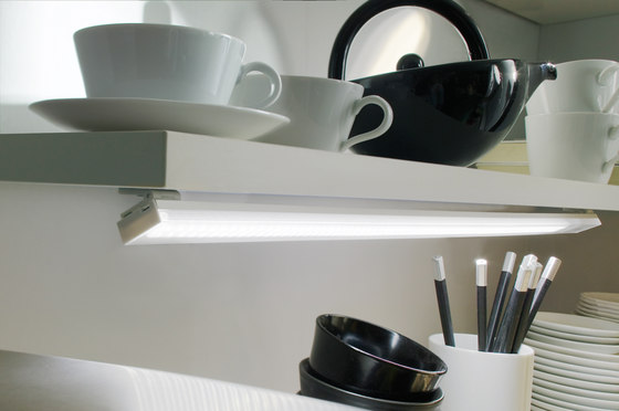 LED Flat-Stick - Small LED Surface-Mounted Luminaire by Hera