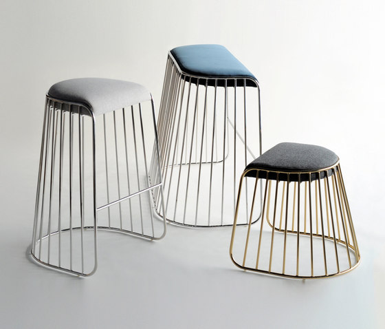 Bride's Veil Double Stool by Phase Design