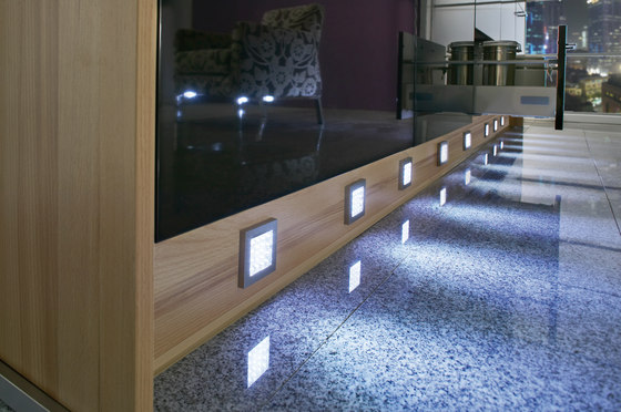 ER-LED - Flat Surface-Mounted LED Luminaire by Hera