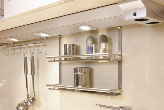 Futura Plus R - Under-Cabinet Luminaire in Customised Lengths with Fittings to Suit de Hera