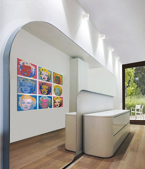 Cubo Soffitto by Omikron Design