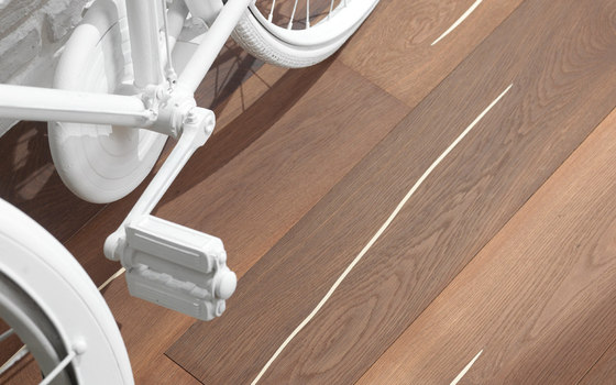 mafi Coral OAK Vulcano white-plank wide. brushed | white oil by mafi