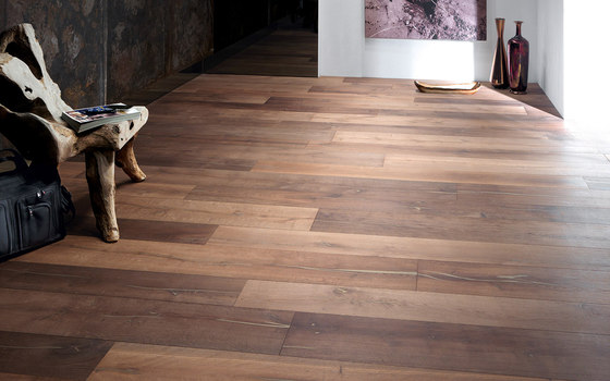 mafi Coral OAK Vulcano wide plank gold. brushed | white oil by mafi