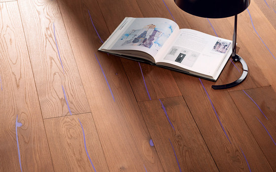 mafi Coral OAK Vulcano wide-plank violet. brushed  |  natural oil by mafi