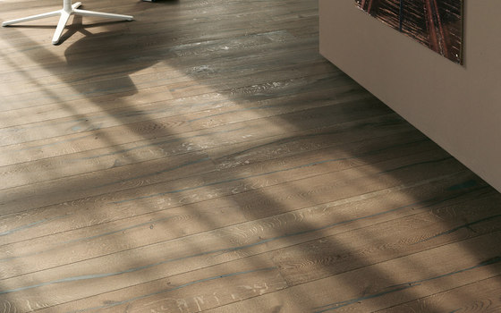 mafi Coral OAK wide plank silver. brushed | natural oil by mafi