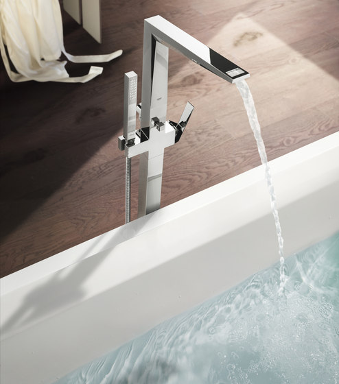 Allure Brilliant Thermostat with integrated 2-way diverter by GROHE
