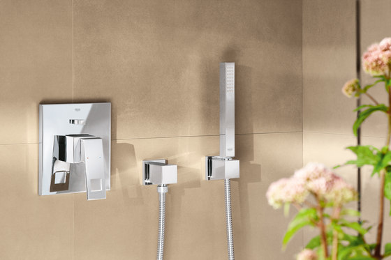 Eurocube Three-hole basin mixer de GROHE
