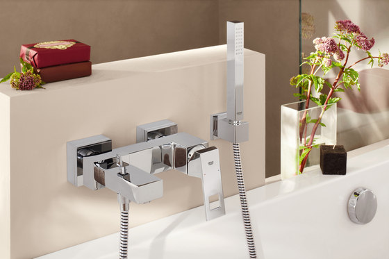 "Eurocube Single-lever bath mixer 1/2"" di GROHE"