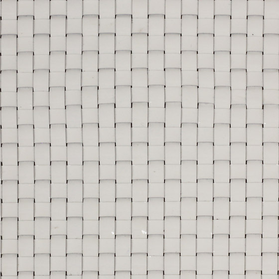 Woven leather, pearlized by selected by Materials Council