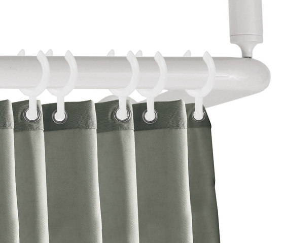 Shower curtain rod | corner version by Nordholm