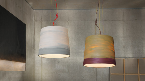 The Sisters pendant lamp Fog by mammalampa