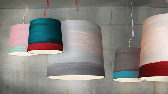 The Sisters pendant lamp Twilight by mammalampa
