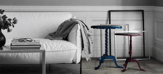 Coolors tables | Ottoman side table by Boca do lobo