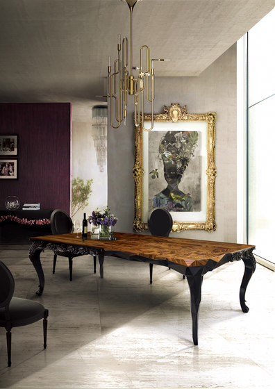 Royal table by Boca do lobo