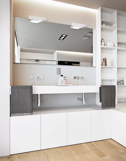 Block wall cabinets from makro architonic for Bathroom cabinets makro