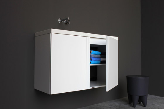 Grid cabinet by Not Only White B.V.