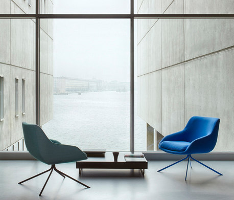 Blue Armchair by Palau
