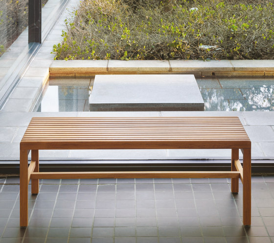 Slat Bench by BassamFellows