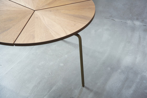 Circular Dining Table by BassamFellows
