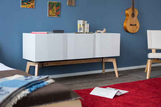 Private Space Credenza by ellenbergerdesign