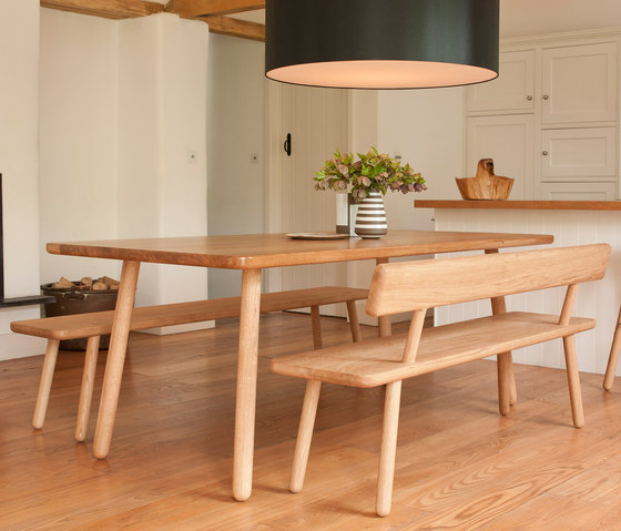 Dining Table Round - Oak/Natural by Another Country