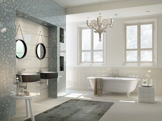 Mayfair | Decoro Style Lux Warm Grey di Lea Ceramiche
