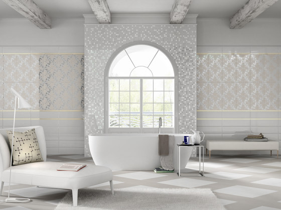 Mayfair | Mosaico Palace Warm Grey von Lea Ceramiche