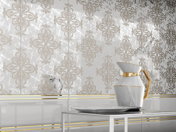 Mayfair | Decoro Style Warm Grey di Lea Ceramiche