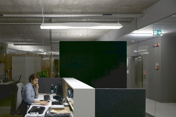 CIELOS Soffitto luminoso modulare di Zumtobel Lighting