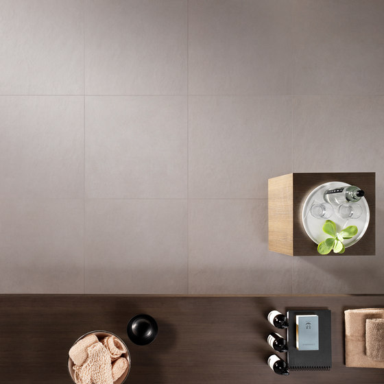 Metropolis | New York Coal 60x60 by Lea Ceramiche