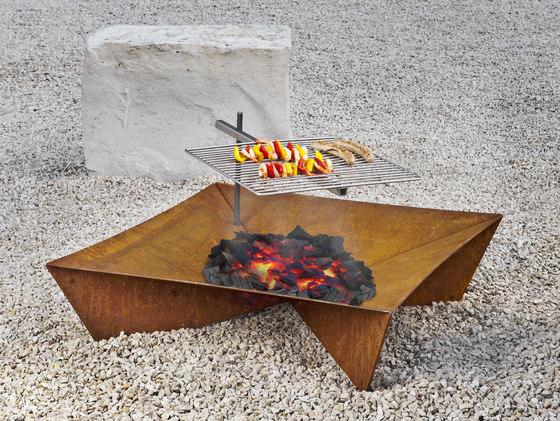 Fluxus Feuerstelle | Grill von keilbach