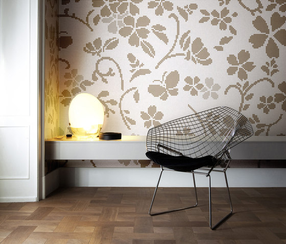 Hana Flower Grey B by Bisazza