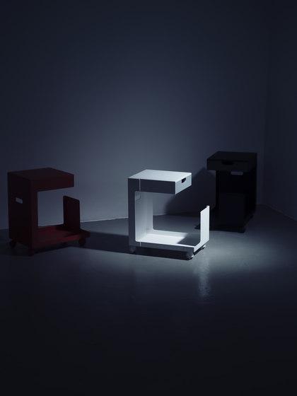 Ed Mobile Pedestal by L&Z