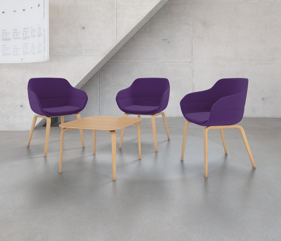 crona Chair 6365/A by Brunner