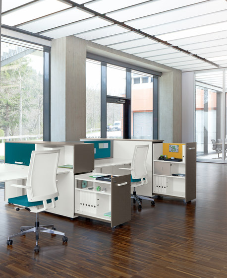 Cube_S | Bridge Spine Kombi workstation de Bene