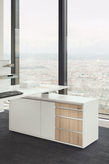 Cube_S | Bridge Spine Kombi workstation von Bene