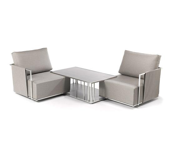 Suite side table di Fischer Möbel