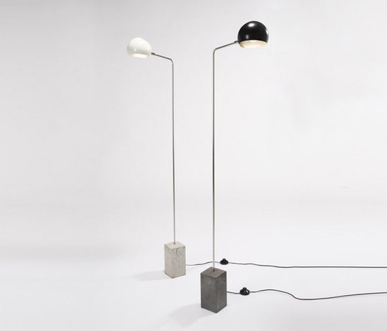 Cement Standing Lamp No 307 by David Weeks Studio