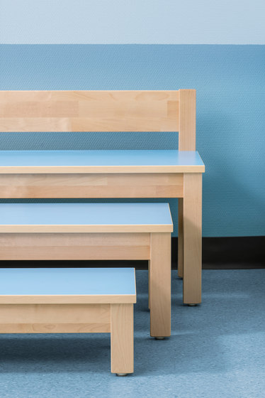 Bench for children SI701B by Woodi