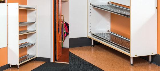 Shoe rack ET104-90 by Woodi