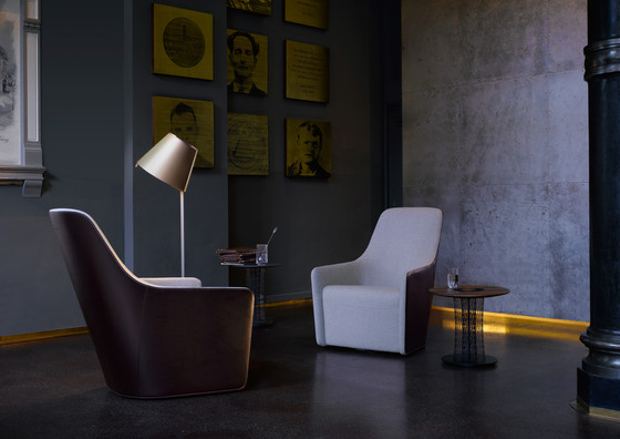 Foster 520 armchair leather by Walter Knoll