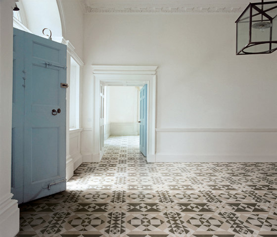 Frame Majolica Floor Tile by Refin
