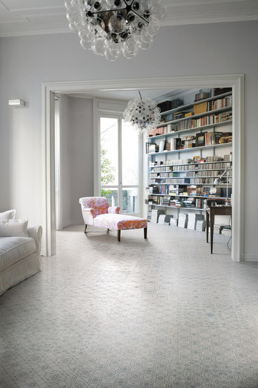 Frame Wave Floor Tile de Refin