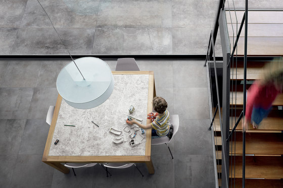 Design Industry Oxyd Rust Floor Tile by Refin