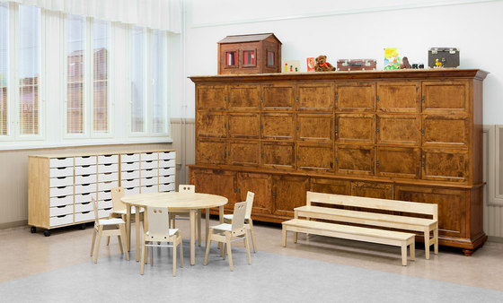 Table for children 1200-L60S di Woodi