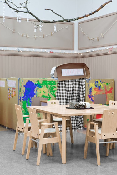 Table for children 6012-L73S by Woodi