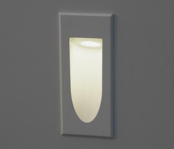 q led wandeinbauleuchte allgemeinbeleuchtung von unex. Black Bedroom Furniture Sets. Home Design Ideas