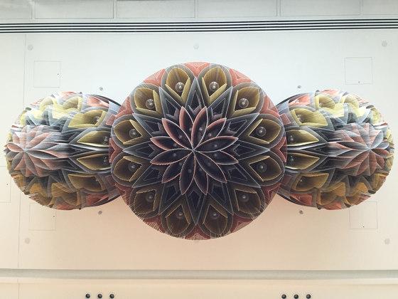 Mandala No.1 - 1000 - suspended de Willowlamp