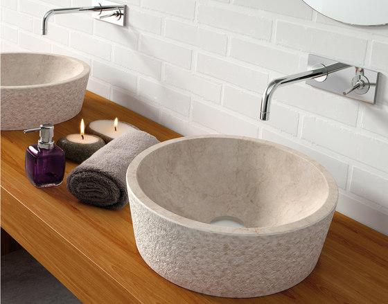Dual beige lavabo de CODIS BATH