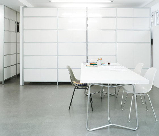 mf-system | Shelf with sliding doors by mf-system
